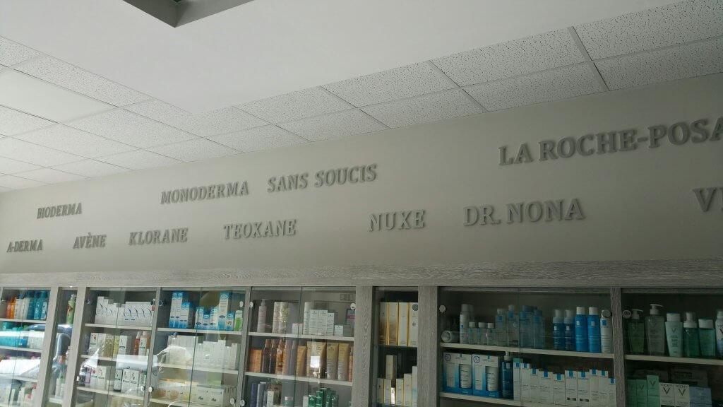 3D písmo na stenu